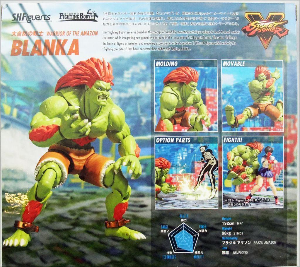 Street Fighter V - Bandai S.H.Figuarts - Blanka