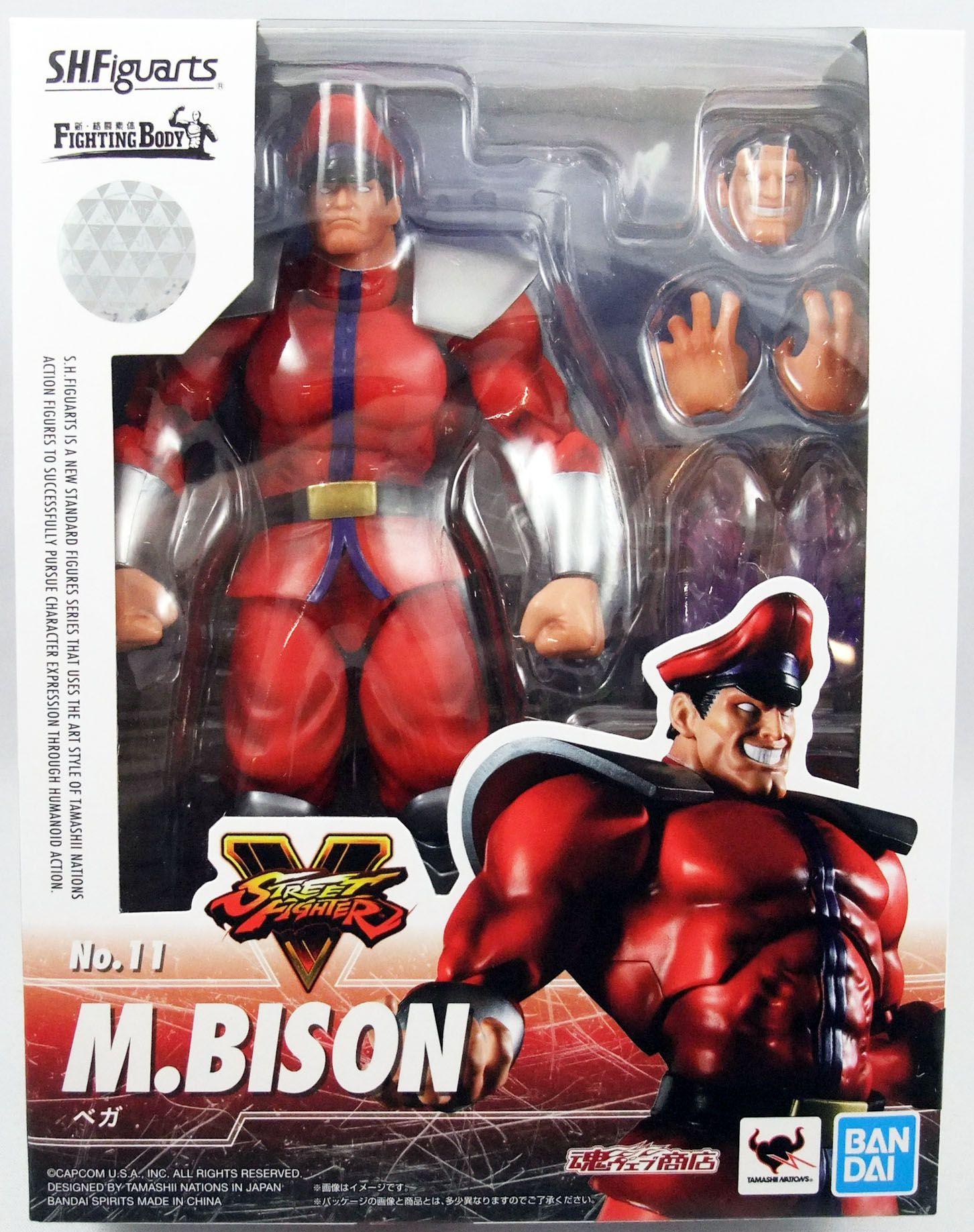 Street Fighter V Bandai S H Figuarts M Bison
