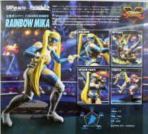 Street Fighter V - Bandai S.H.Figuarts - Rainbow Mika
