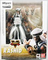 Street Fighter V - Bandai S.H.Figuarts - Rashid