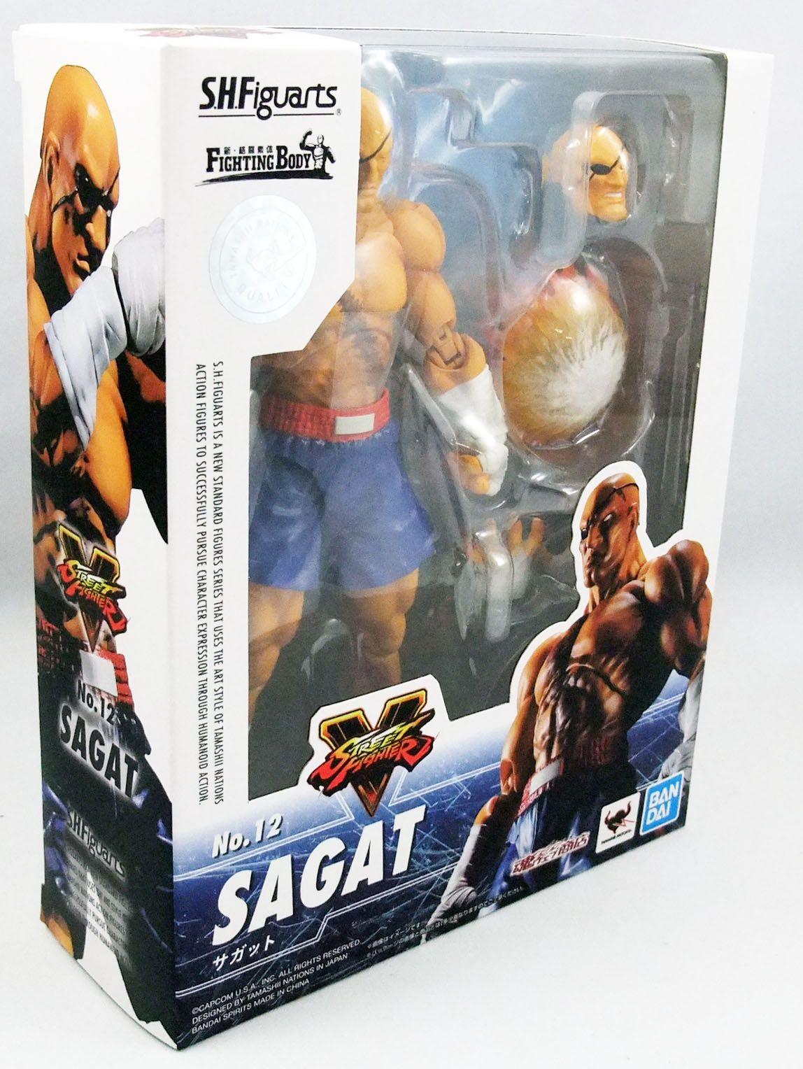 Street Fighter V - Bandai S.H.Figuarts - Sagat