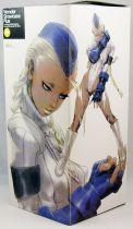 Street Fighter Zero 3 - Statue vinyl 26cm - Cammy (costume blanc) - Kaiyodo