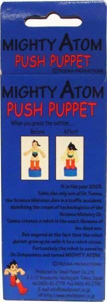 stro Boy - 5\'\' Push Puppet  - Mint in Box