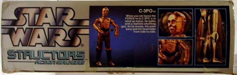 Structor C-3PO Action walker - 1984