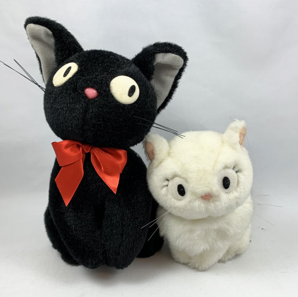 Studio Ghibli - Kiki la petite Sorcière - Jiji & Lily (Peluches Sun Arrow)