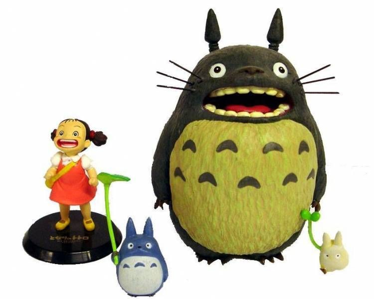 Studio Ghibli - My neighbor Totoro - PVC Figures set