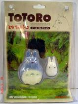 Studio Ghibli - My neighbor Totoro - Totoro\\\'s friends - Flocked Figures
