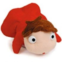 Studio Ghibli - Ponyo on the Cliff by the Sea - Ponyo 4\'\' Plush - Sun Arrow