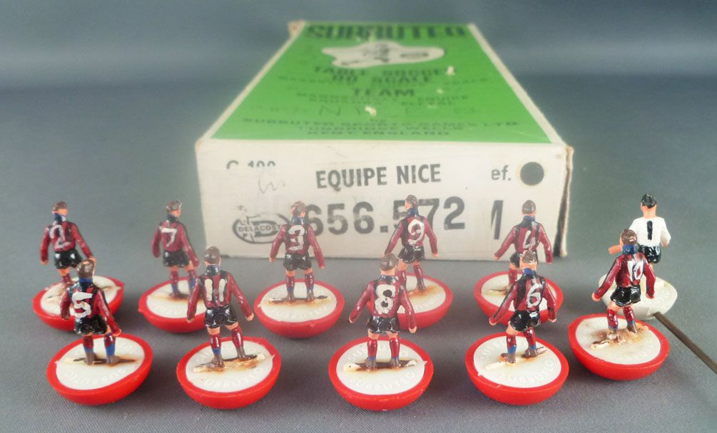 Subbuteo Delacoste 656-572 - HW 76 Equipe Ogc Nice