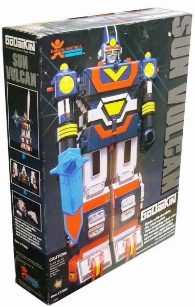 Sun Vulcan DX - Diecast Action Figure - Godaikin Bandai USA (mint in box)