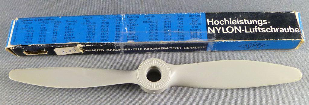 Super Best-Nr 1316/18/15 - Nylon Plane Propeller Mint in Box