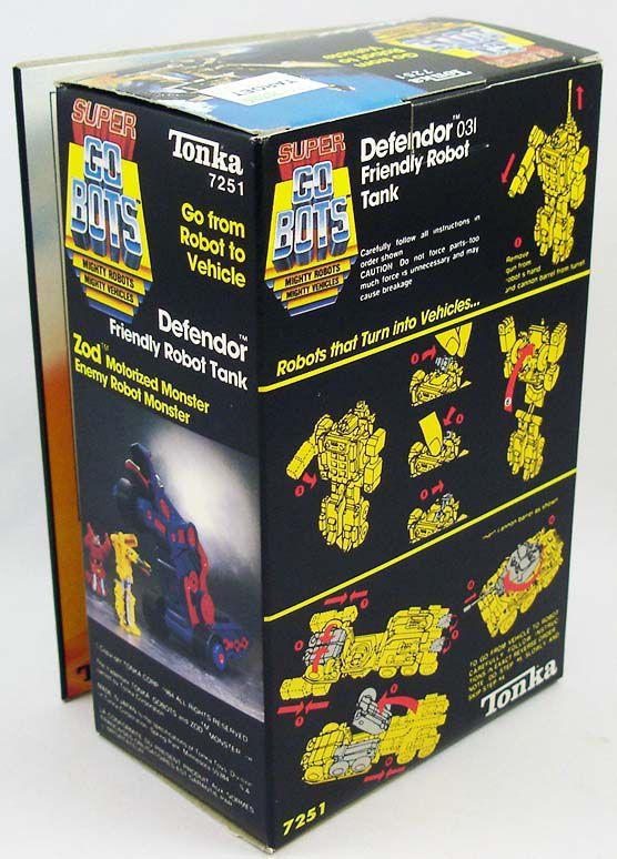 Super-Gobots - Tonka - Defendor