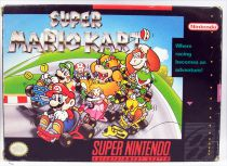 Super Nintendo Enterntainment System SNES - Super Mario Kart (Version NTSC USA)