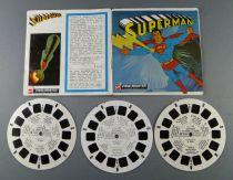 Superman - Pochette de 3 View Master 3-D