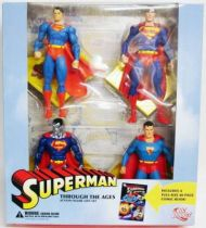 Superman \'\'Through the Ages\'\' - Exclusive Action Figure Gift Set