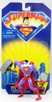 Superman Série Animée - Evil Bizarro (loose with cardback)