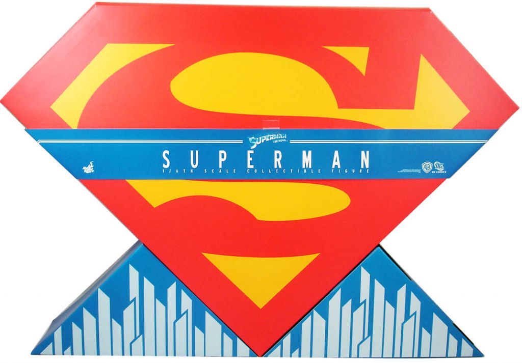 """Superman the Movie - Superman (Christopher Reeve) 12\"""" figure - Hot Toys Sideshow MMS152"""