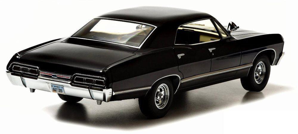 Supernatural - 1967 Chevrolet Impala Sport Sedan - Diecast 1:18 scale Greenlight