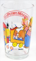 Sylvanian Families / Mapletown - Amora Mustard Glass 1986 - At the Train station