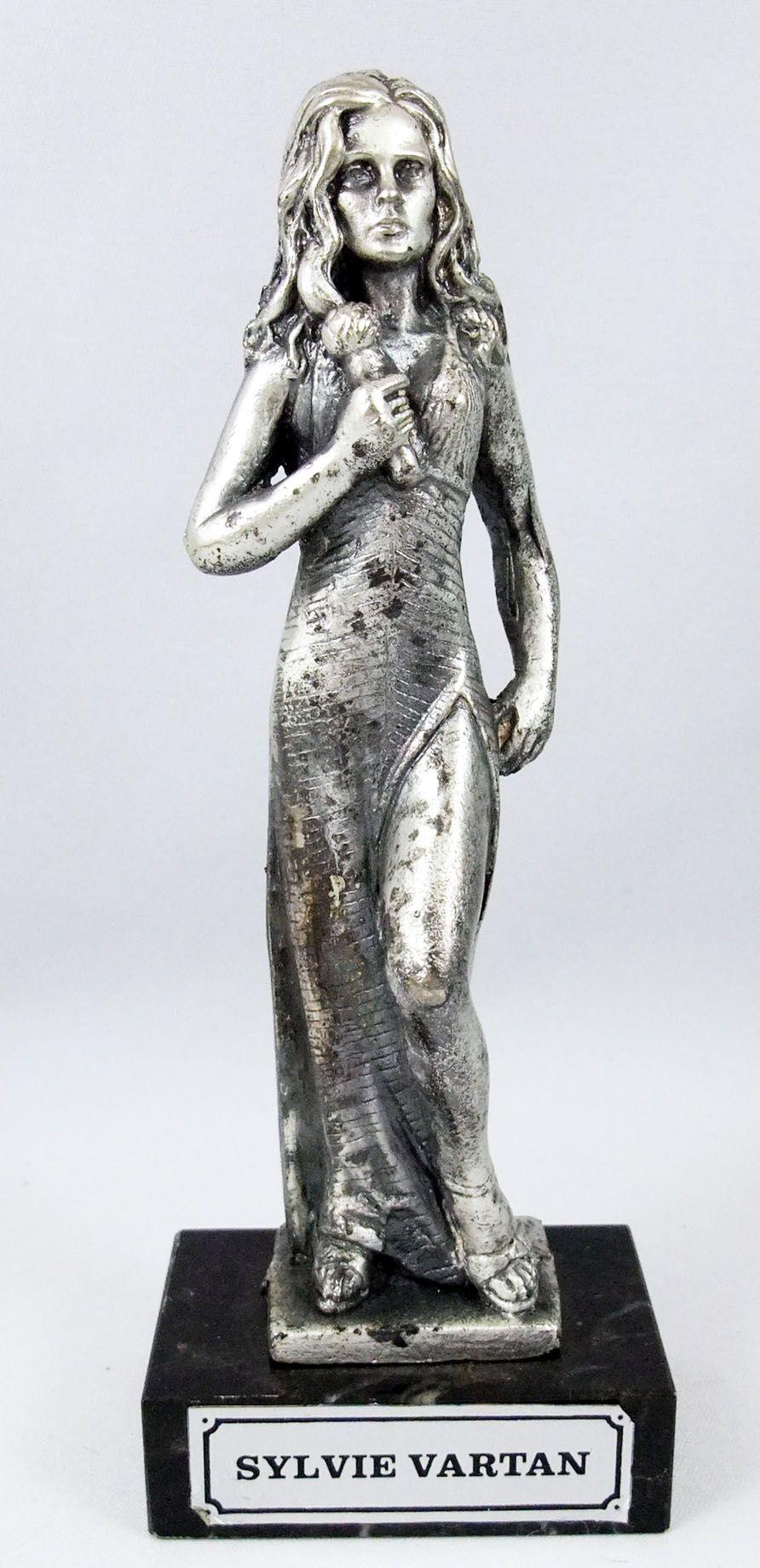 "Sylvie Vartan - 6\"" die-cast métal statue - Daviland France 1978"