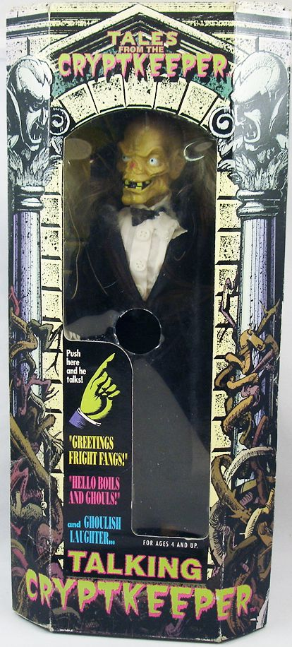 Tales From The Crypt Cryptkeeper In Tuxedo 12 Talking Doll