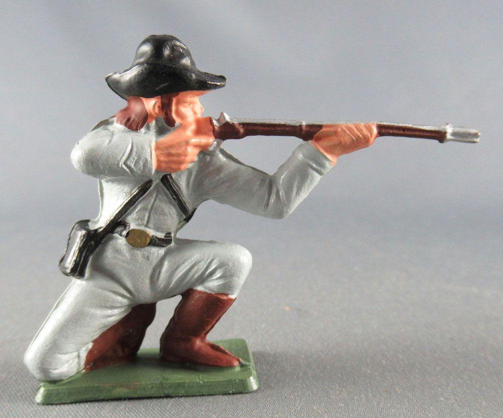 tarlux - Confederates - Regular Series - Footed kneeling firing rifle (ref S3)