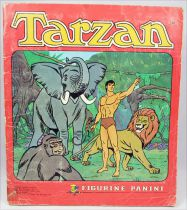 Tarzan - Panini Stickers collector book 1979