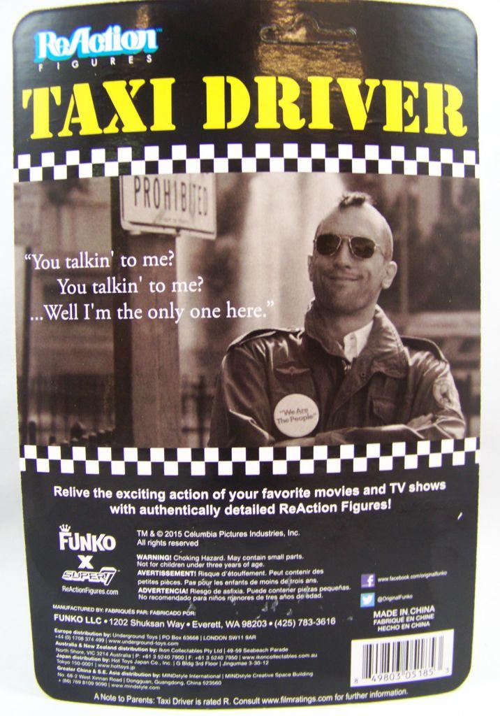 Taxi Driver - ReAction Figure - Travis Bickle 02