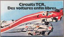 Tcr - Catalogue Dépliant Circuits Des Voitures enfin Libres