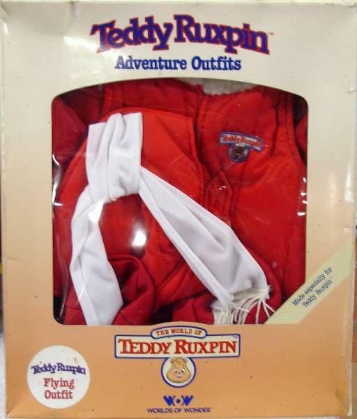 Teddy Ruxpin - Tenue d\'Aviateur