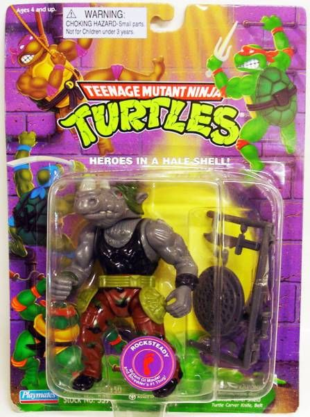 Teenage Mutant Ninja Turtles - 1988 - Rocksteady