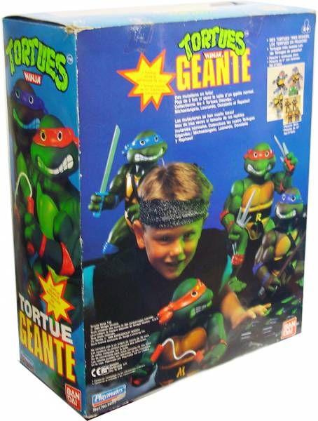 Teenage Mutant Ninja Turtles - 1989 - Giant Turtles Raphael
