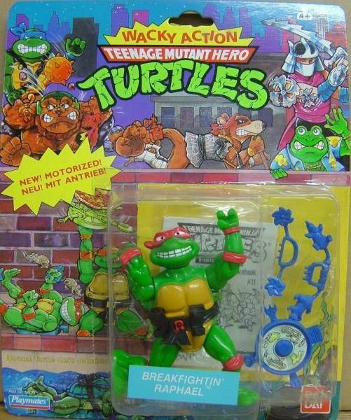 Teenage Mutant Ninja Turtles - 1989 - Wacky Action - Breakfighting Raphael