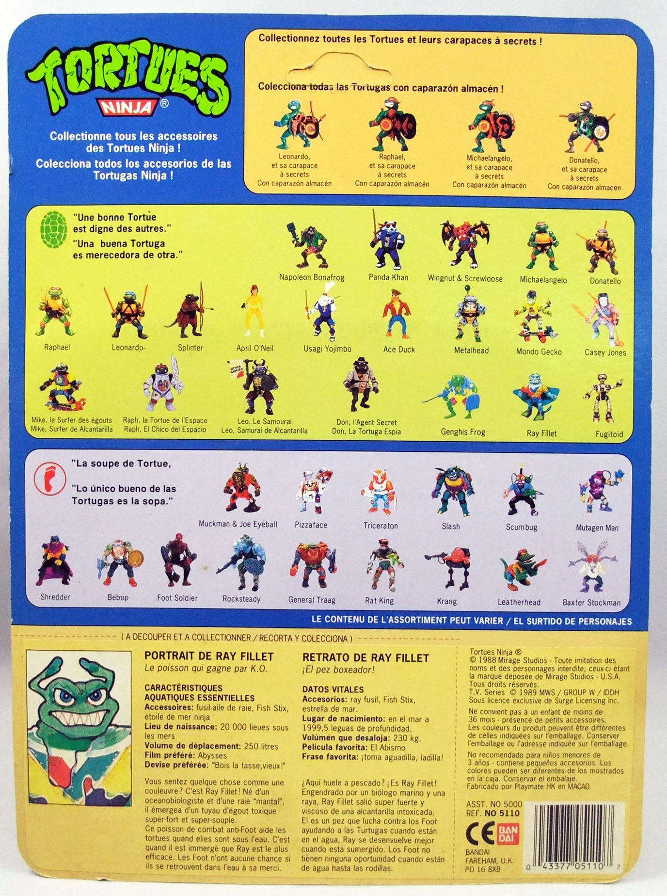 Teenage Mutant Ninja Turtles - 1990 - Ray Fillet