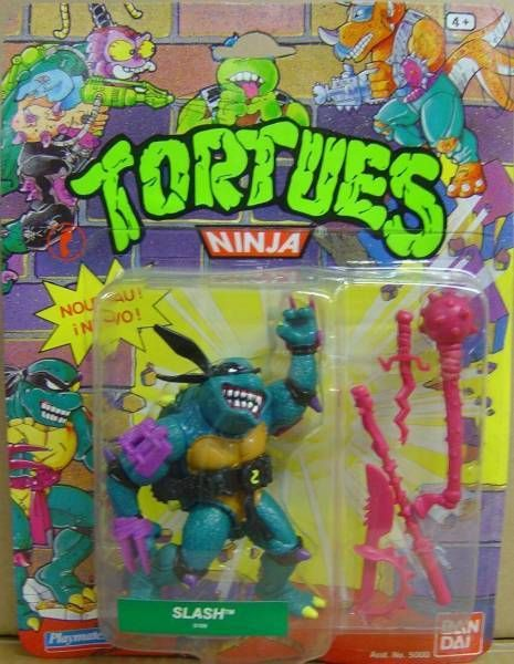 Teenage Mutant Ninja Turtles - 1990 - Slash