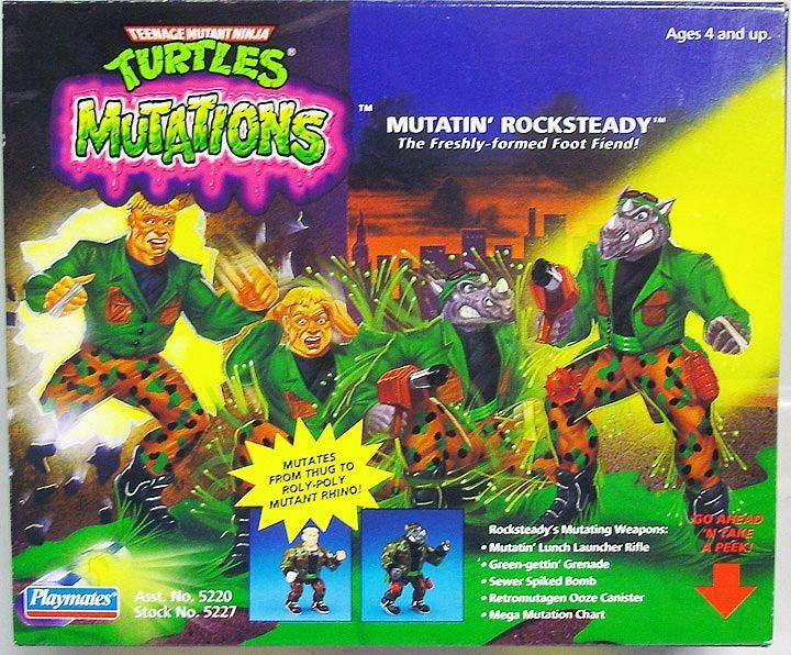 Teenage Mutant Ninja Turtles - 1992 - Mutations - Mutatin\' Rocksteady