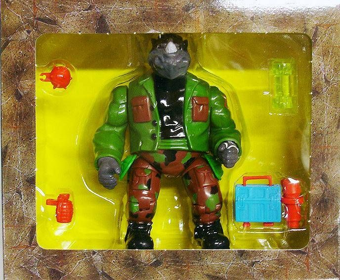 Teenage Mutant Ninja Turtles Mutatin Rocksteady Playmates