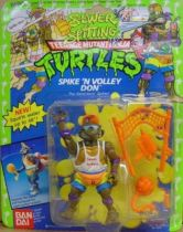 Teenage Mutant Ninja Turtles - 1992 - Sewer Spitting - Spike\'n Volley Don