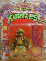 Teenage Mutant Ninja Turtles - 1992 - Wacky Wild West - Crazy Cowboy Don