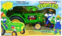 Teenage Mutant Ninja Turtles - 1993 - Turtle Tractor with Farmer Mike