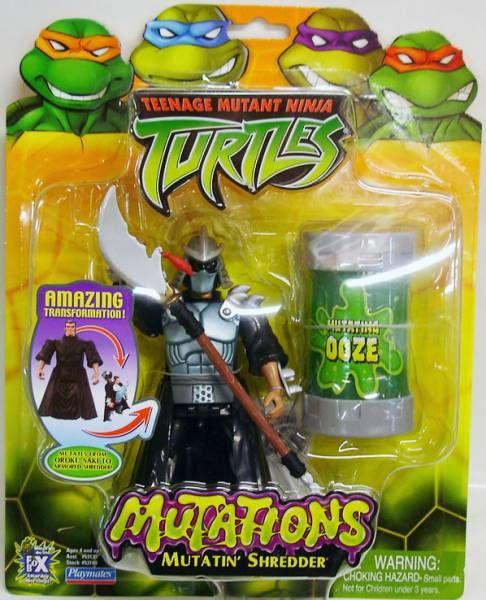 Teenage Mutant Ninja Turtles 2003 Mutations Mutatin Shredder