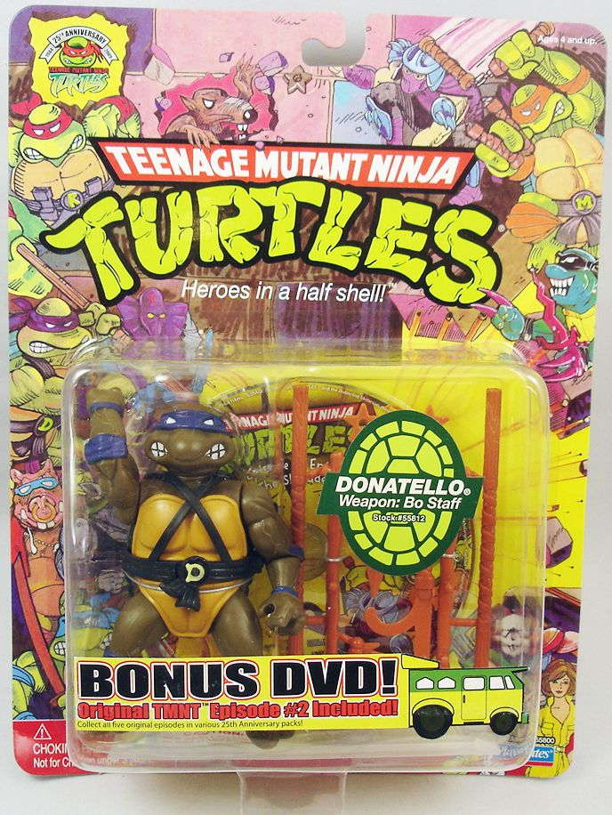 With tmnt 25th anniversary toys necessary words