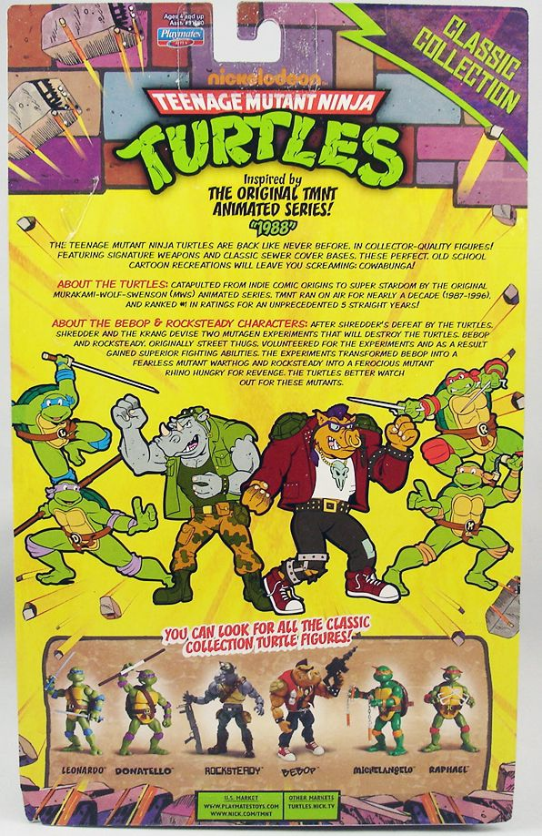 Tortues Ninja - 2013 - Classic Collection - Rocksteady (1)