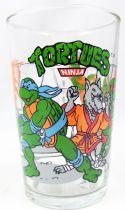 Teenage Mutant Ninja Turtles - Amora drinking glass 1990 - Training day in the dojo