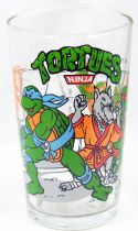 Teenage Mutant Ninja Turtles - Amora drinking glass 1990 - Training day in the dojo