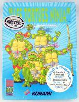 Teenage Mutant Ninja Turtles - Konami - Amstrad CPC disk software video game - 1990