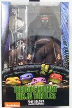 """Teenage Mutant Ninja Turtles - NECA - 1990 Movie Foot Soldier \""""Bladed Weapons\"""""""
