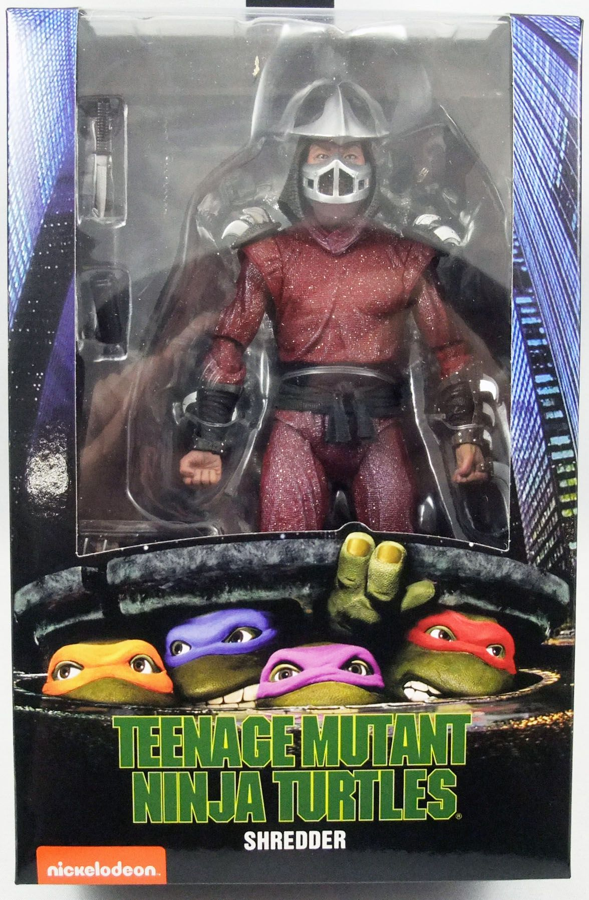 Teenage Mutant Ninja Turtles Neca 1990 Movie Shredder