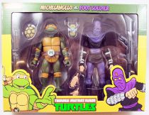 Teenage Mutant Ninja Turtles - NECA - Michelangelo vs. Foot Soldier