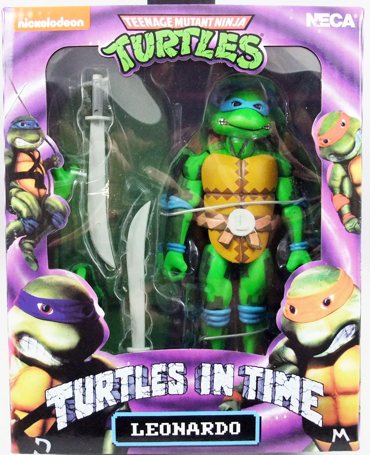 Teenage Mutant Ninja Turtles Neca Turtles In Time Leonardo